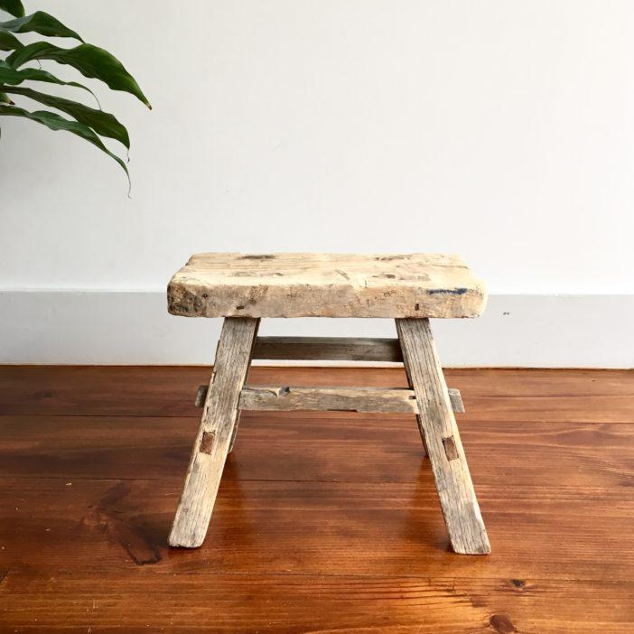 petit tabouret vintage la boutique de lodge. Black Bedroom Furniture Sets. Home Design Ideas