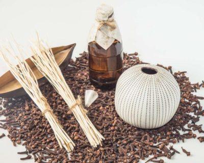 Diffuseur en céramique aux huiles essentielles «Verveine des Indes»
