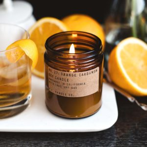 bougie pf candle co orange cardamom