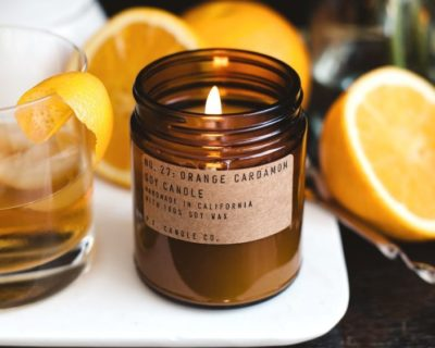 "Bougie PF Candle.co ""Orange Cardamom"""
