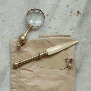 coupe papier en laiton nkuku 3