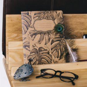 carnet recyclé montera me naturaliste