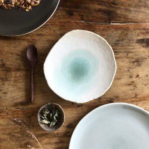 petite assiette wabi verte jars céramistes 3