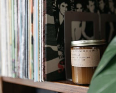 "Bougie PF Candle co. ""Teakwood & Tobacco"""