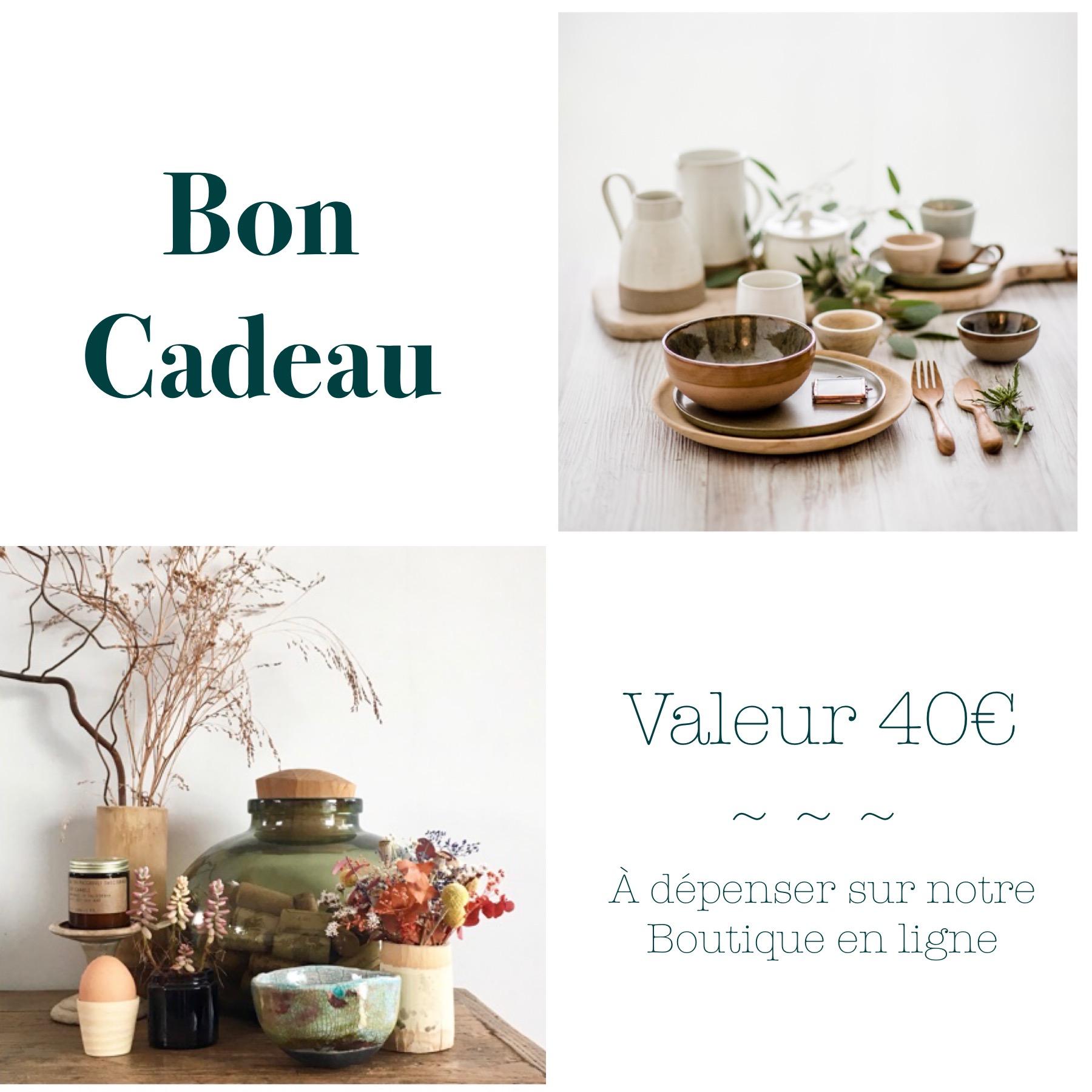Bon Cadeau De 40 A Imprimer Et A Offrir La Boutqiue De Lodge