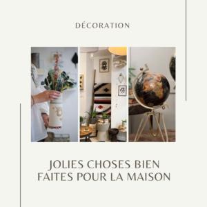 Les boutqiues Lodge et Nicoletta vous proposent des objets de décoration... Fabrication artisanale, matériaux recylés, principe du commerce équitable...
