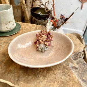 bol ovale maguelone couleur Tamaris, fabriqué en France par Jars céramistes, Lodge boutique