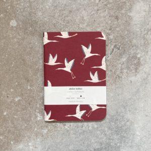 carnet de poche atelier bobbie, fabriqué en france, lodge boutique