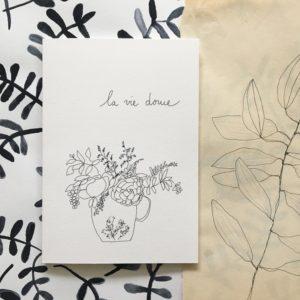 carte la vie douce, papillonnage, lodge boutique
