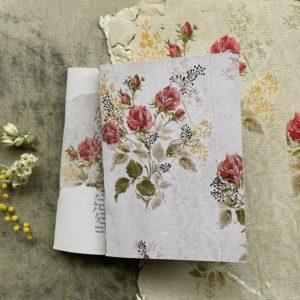 """lot de 2 carnets """"Les désuets"""" Papillonnage, lodge boutique"""