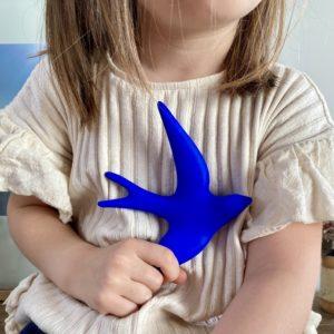 hirondelle bleu outremer monochromic, lodge boutique
