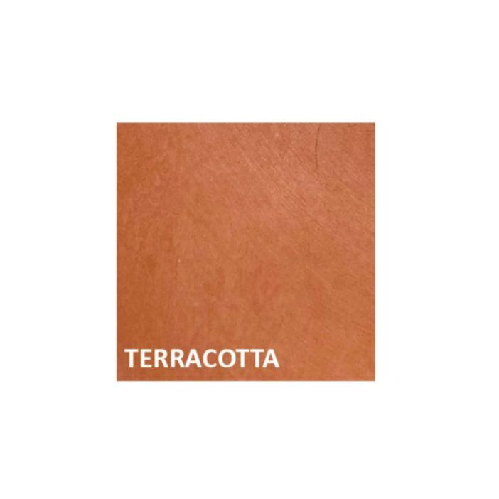 monochromic terracotta, lodge boutique