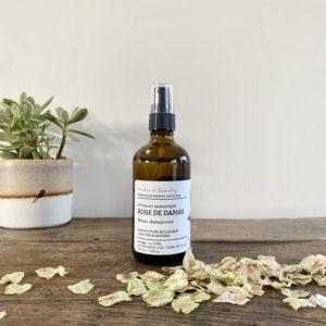 hydrolat aromatique rose de damas, make it beauty, lodge boutique