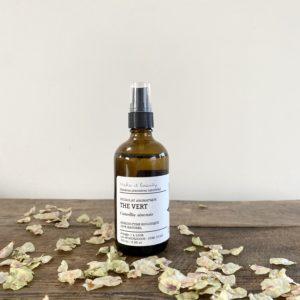 hydrolat de thé vert bio, make it beauty, lodge boutique