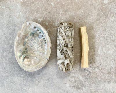 kit découverte sauge & palo santo, lodge boutique