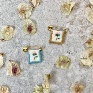 broche petite fleur, olive and the peppers, lodge boutique