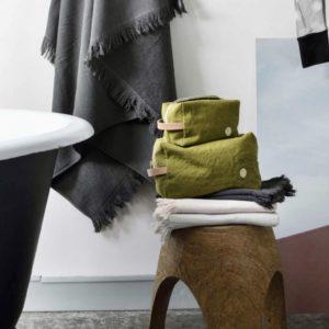 trousse de toilette lichen, la cerise sur le gateau, lodge boutique