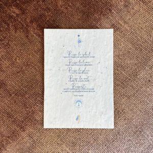 carte ensemencée prière apache, lodge boutique