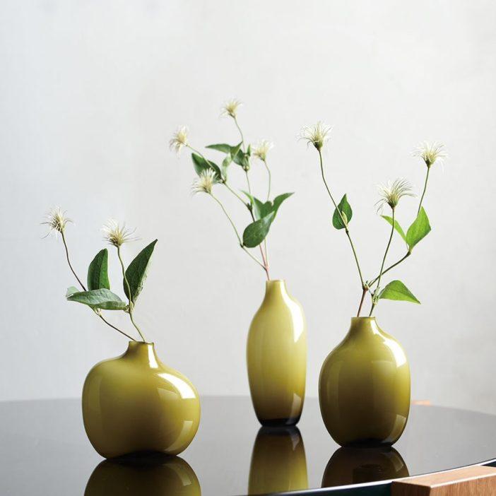 vase Sacco 01 en verre, Kinto Japan, lodge boutique