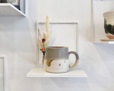 Mug en porcelaine rosé, Sylvie Espagnol