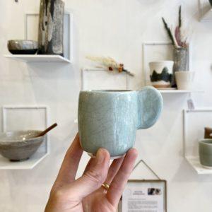 tasse dashi céladon, jars céramistes, lodge boutique